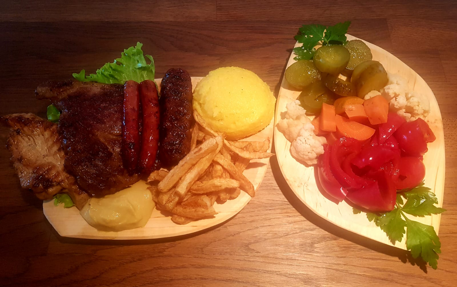 platou mix grill 1 pers